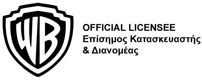 LOGO WARNER ΜΑΥΡΟ OFFICIAL LICENSEE ΠΛΑΙΝΟ22